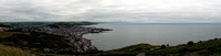 The Wedding of Tony and Frances Ryan 2013-Panorama of Aberystwyth 1b