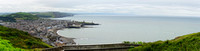 The Wedding of Tony and Frances Ryan 2013-Panorama of Aberystwyth 2