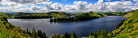 Clywedog reservoir and hafren forest wildcamp June 2014_Panorama1c