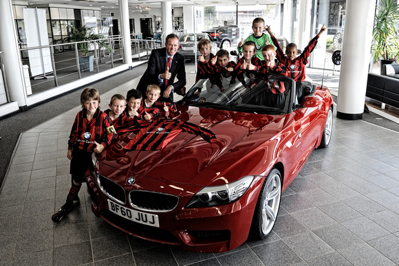 BMW Kids Football Photoshoot Sept 2010-5