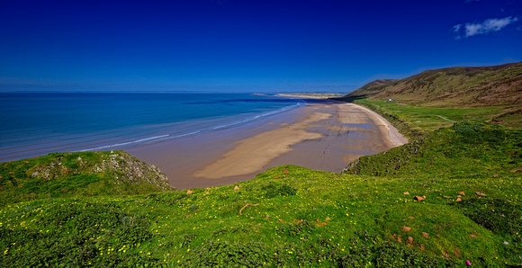 Rhossili and Worms Head April 2014-50